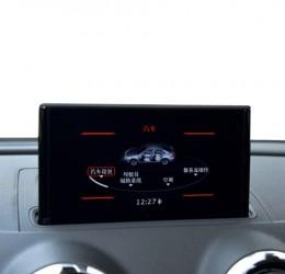 奥迪786换屏多媒体系统