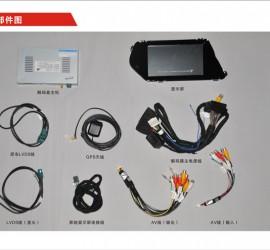 CVS-1256 奔驰GLK换屏多媒体影音系统