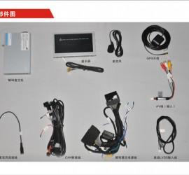 卡锋CVS-1153奥迪A1换屏多媒体影音系统