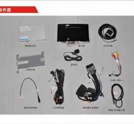 CVS-1155奥迪Q3带屏多媒体系统