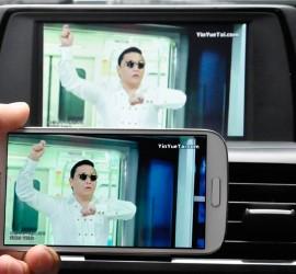 宝马4系升级车智连CVS-1328宝马多媒体影音系统