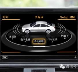 奥迪CVS-1128奥迪3GMMI多媒体影音系统