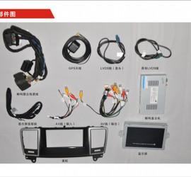 CVS-1252奔驰ML换屏多媒体影音系统